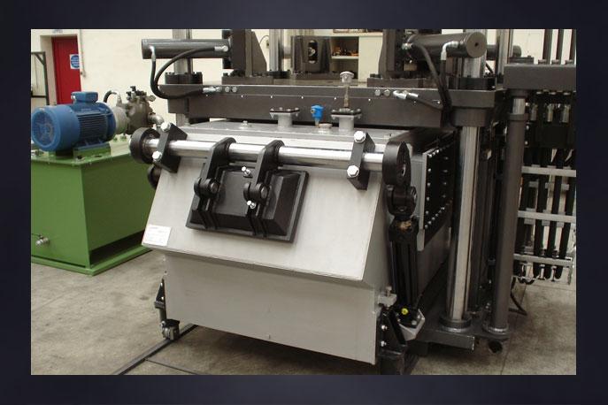 Machineries and plants for aluminium low pressure die